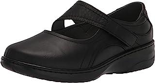 Propét Women's Golda Mary Jane Flat, Black, 7 XX-Wide