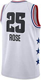 ANHPI-Jersey Camiseta NBA 2019 All Star -Derrick Rose # 25 Camiseta NBA -