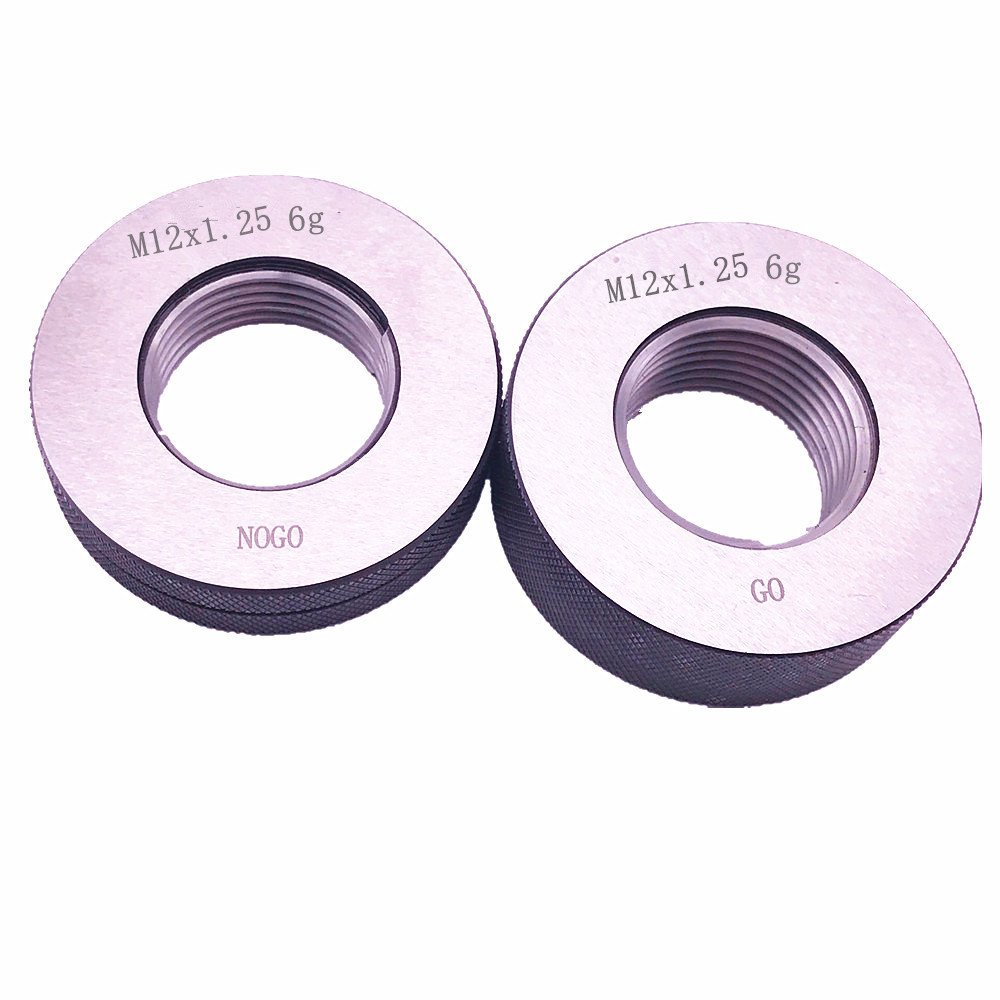 M12 x 1.25 supreme Thread Ring gage 6g GO by 100% calibrated F NOGO Ship Opening large release sale