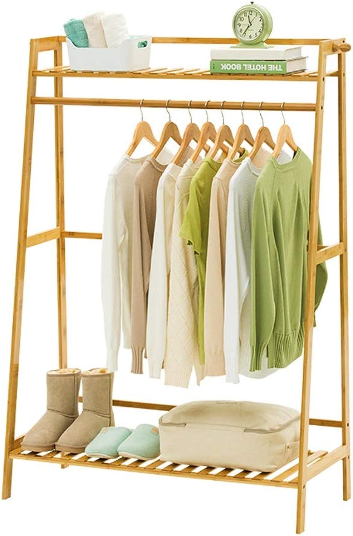 XXHDYR Simple Modern Solid Wood Coat Rack Hanger Floor Bedroom Storage Rack Living Room Home Hanger 140cmx100x40cm Coat Rack