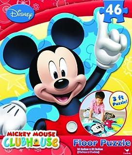 Disney Mickey Mouse Printed Floor Puzzle - 46 pieces