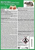 SUPER RAT Rojo Pasta Fresca Elimina Ratones y Ratas-1 Kg