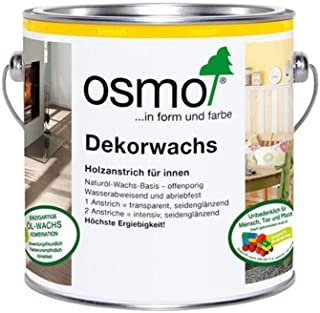 Osmo Wood Wax Finish - Transparent - 3118 Graphite Grey - 2.5 Liter