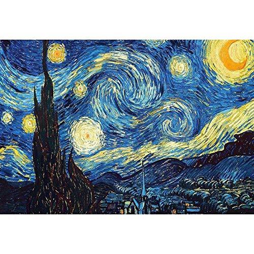 Diy diamante pintura kits de bordado noche estrellada punto de cruz rhinestone mosaico de cristal bordado fotos decoración del hogar