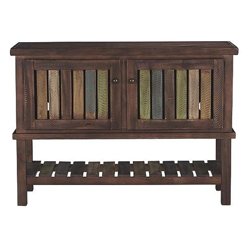 Reclaimed Wood Cabinet: Amazon com
