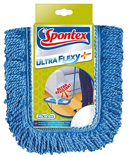 Spontex - 1 Recharge Microfibre Balai Ultra Flexy +