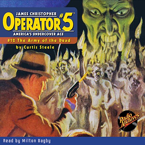 Operator #5 #12, March 1935 audiobook cover art