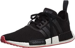 Adidas ORIGINALS Men's NMD_R1 Running Shoe, Black/Carbon/Trace Scarlet, 8 M US