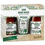 alkmene Trio-Set Bio Olive, Geschenkset mit Cremeöl Duschgel, Cremeöl Lotion und Handcreme für...