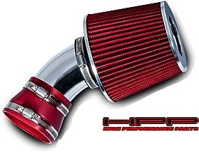 High Performance Parts Short Ram Air Intake Kit & Red Filter Combo Compatible for 2006-2007 Chevrolet Malibu / 2006-2009 Pontiac G6 3.9L V6 Engine