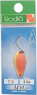 Rodiocraft(ロデオクラフト) スプーン ノア B 2.6g N.O2('11 奥山カラー) #75 ルアー
