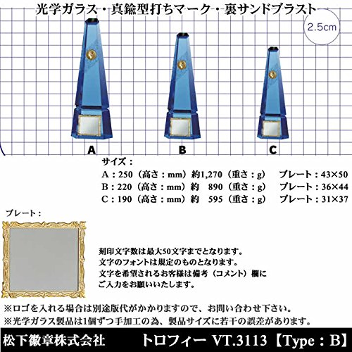 松下徽章『V-SHIKAデリシャストロフィー(VT.3113)』