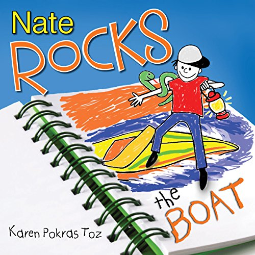 Nate Rocks the Boat audiobook cover art