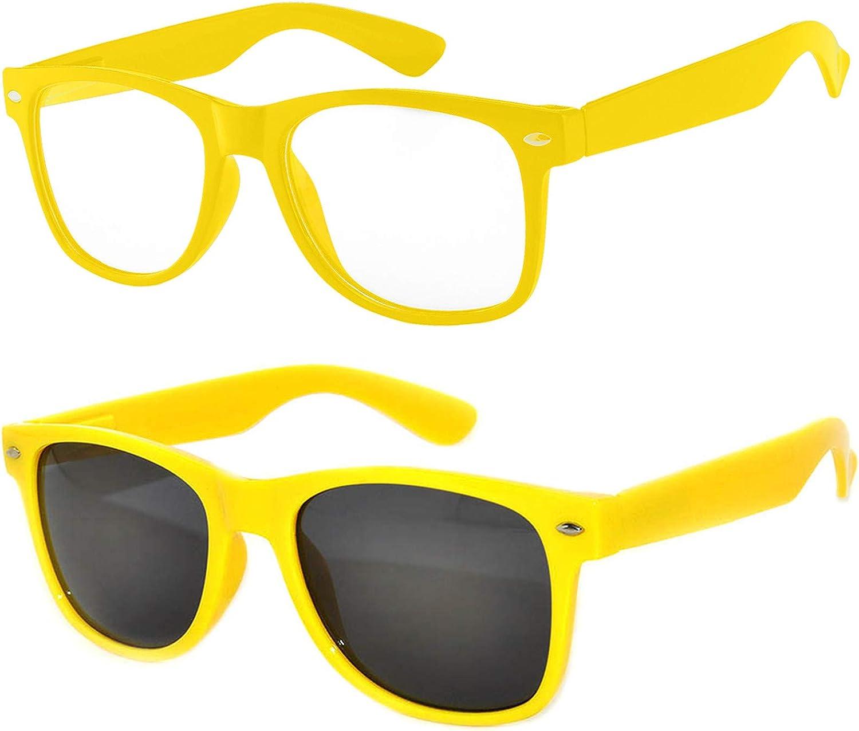2 Pairs Kids Sunglasses Protect Child's Eyes from UVB UVA