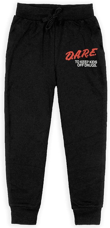 Dare to Very popular Keep Kids Off Drugs Juvenile Pants All Cotton Arlington Mall Slacks wit