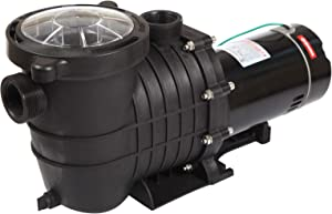 TOPWAY 2HP 110V Swimming Pool Pump 111GPM Filter Garden Inground and Above Ground Pools Water Pump