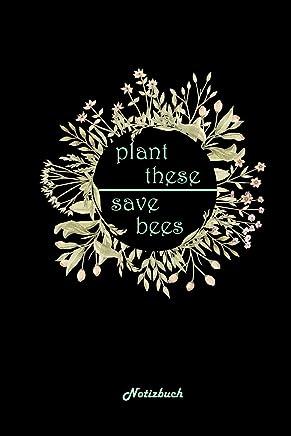 Notizbuch: A5 Kalender Für Imker | Artenschutz Gegen Insektensterben Journal & Planer | Blumen Pflanzen Garten Obstbäume