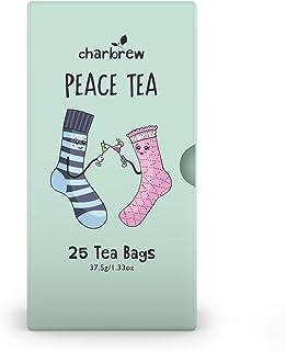 Charbrew Peace Te 4 x 25 Tepåsar 100 dagars lager NATURLIGT KOFFEINFRITT