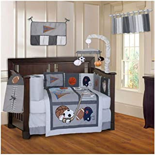 football baby bedding sets