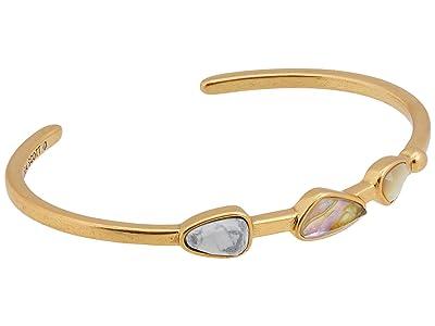Kendra Scott Ivy Cuff Bracelet (Vintage Gold White Mix) Bracelet