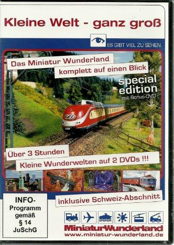 Kleine Welt - ganz groß / Das Miniatur-Wunderland auf 2 DVDs