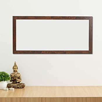 Home Centre Reflection-Sterling Solid Mirror Frame - 45 x 95 cm