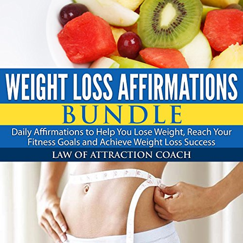 Weight Loss Affirmations Bundle audiobook cover art