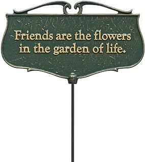 flower garden signs