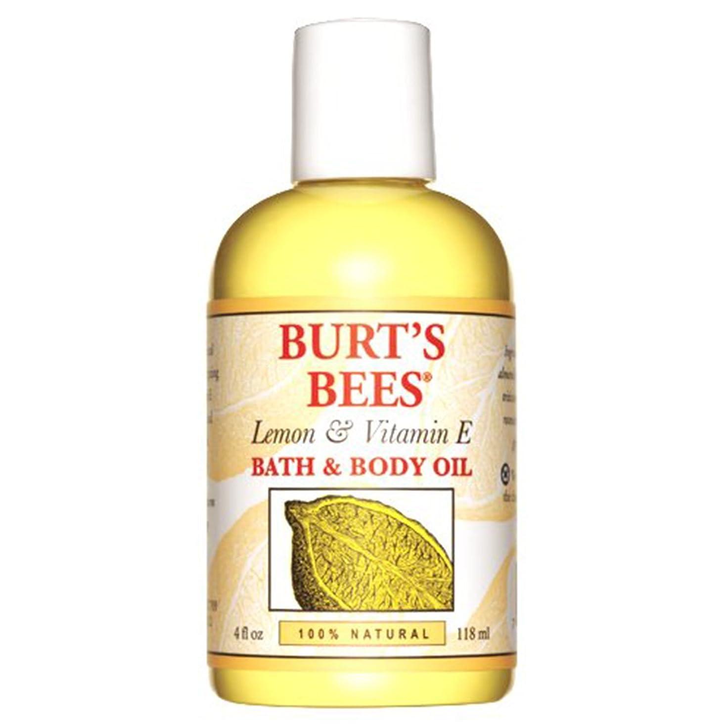シーズン見通し飲み込むバーツビーズ (Burt's Bees) L&E バス&ボディオイル 118ml