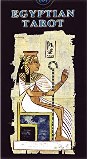 Anya Nana Egyptian Tarot Deck Cards New in Box Ancient Egypt Card 4.75 in x 2.75 in