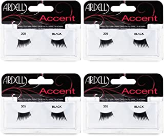 Ardell Accent Lashes 305, 4 Pack