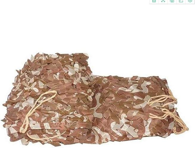 YNFNGXU Filet De Camouflage 2M X 3M Tissu De Camouflage en Tissu Oxford Couverture De Camouflage Adaptée Au Camping Extérieur pour Abri De Camping (Taille   4x6m)