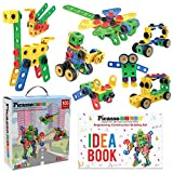 PicassoTiles STEM Learning Toys 105 Piece...