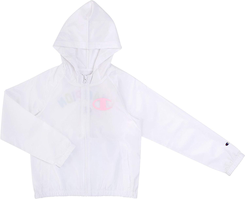 Nippon regular agency Champion Heritage Girls Ranking TOP10 Kids Clothes Jacket Hoo Windbreaker With