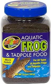 Zoo Med Aquatic Frog & Newt Diet 9oz