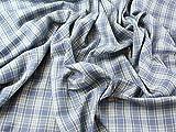 Plaid kariert Polyester & Viskose Twill passend Kleid Stoff