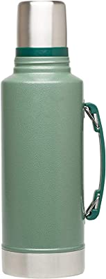 Melodyblue Vacuum Insulated Bottle Outdoor Sports Water Cup Soup Steel Vacuum Flask 1L