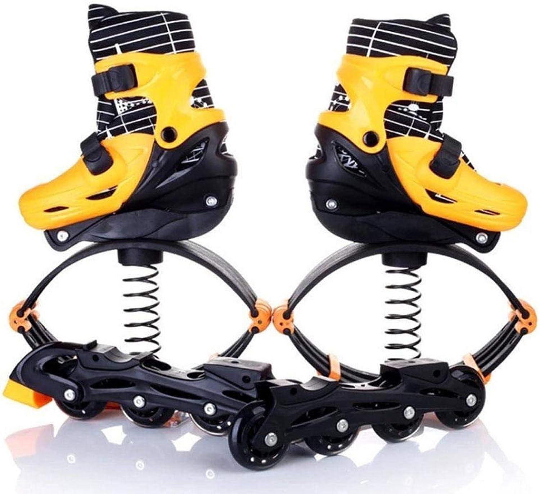 Fitness Sprung Schuhe und Rollschuhe 2 in 1, Space Bouncing übung Laufschuhe Für Kinder