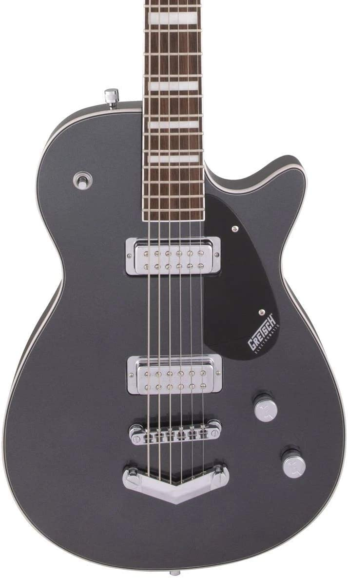 Gretsch Guitars G5260 EMTC Jet Bari LDN GRY · Guitarra eléctrica