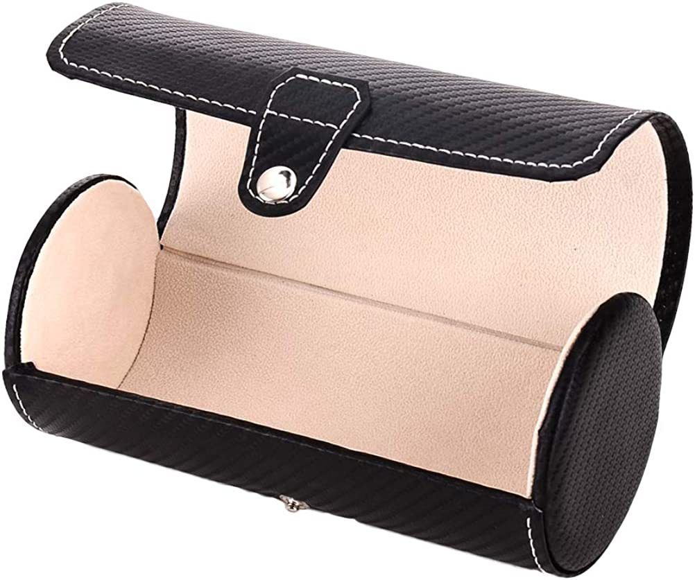 Hemobllo Watch Box Holder Carbon Fiber Storage Columbus Mall All stores are sold Case