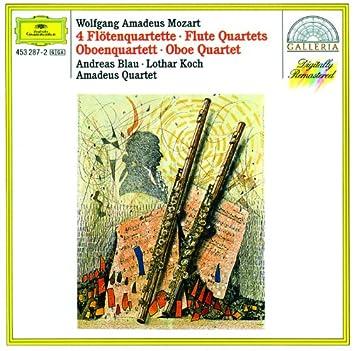Mozart: 4 Flute Quartets; Oboe Quartet