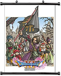 Dragon Quest XI Game Fabric Wall Scroll Poster (16x24) Inches [VG] DragonQuestXI-3