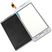 LCD Display Touch Screen Digitizer Replacement for Samsung Galaxy Grand Prime SM-g530 G530A G5308 G530E G530H G530W G530AZ G530FZ G530Y G5309W G530M G530F G530FZ G530DS G530BT (wihout Frame - White)