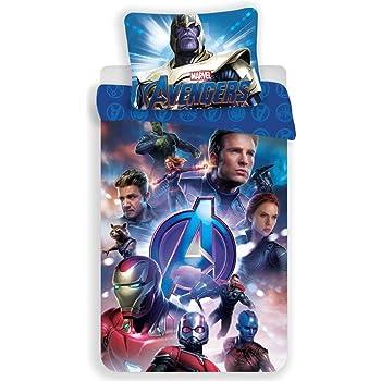 Avengers Kinder Bettw/äsche 140x200 cm