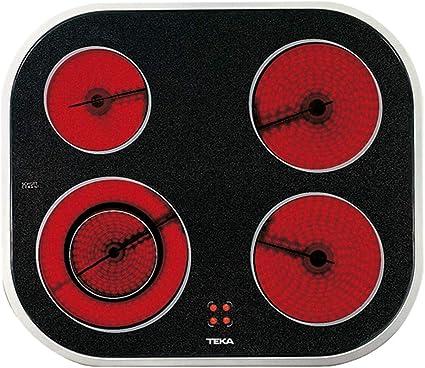 Teka - Vitrocerámica Polivalente con 4 zonas de coción en 60 cm