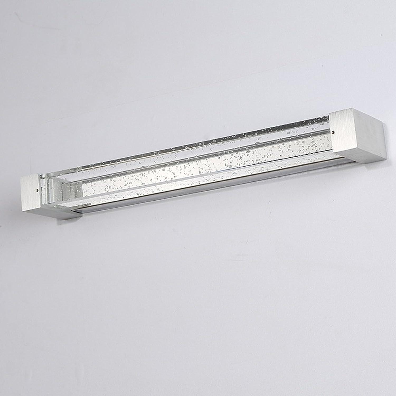 Crystal Wandleuchte LED Bad Spiegel Vorne Lampe Make-up Spiegel Lampe Schlafzimmer Wandleuchte (34 47   62CM) +A (gre   A- long 35cm)