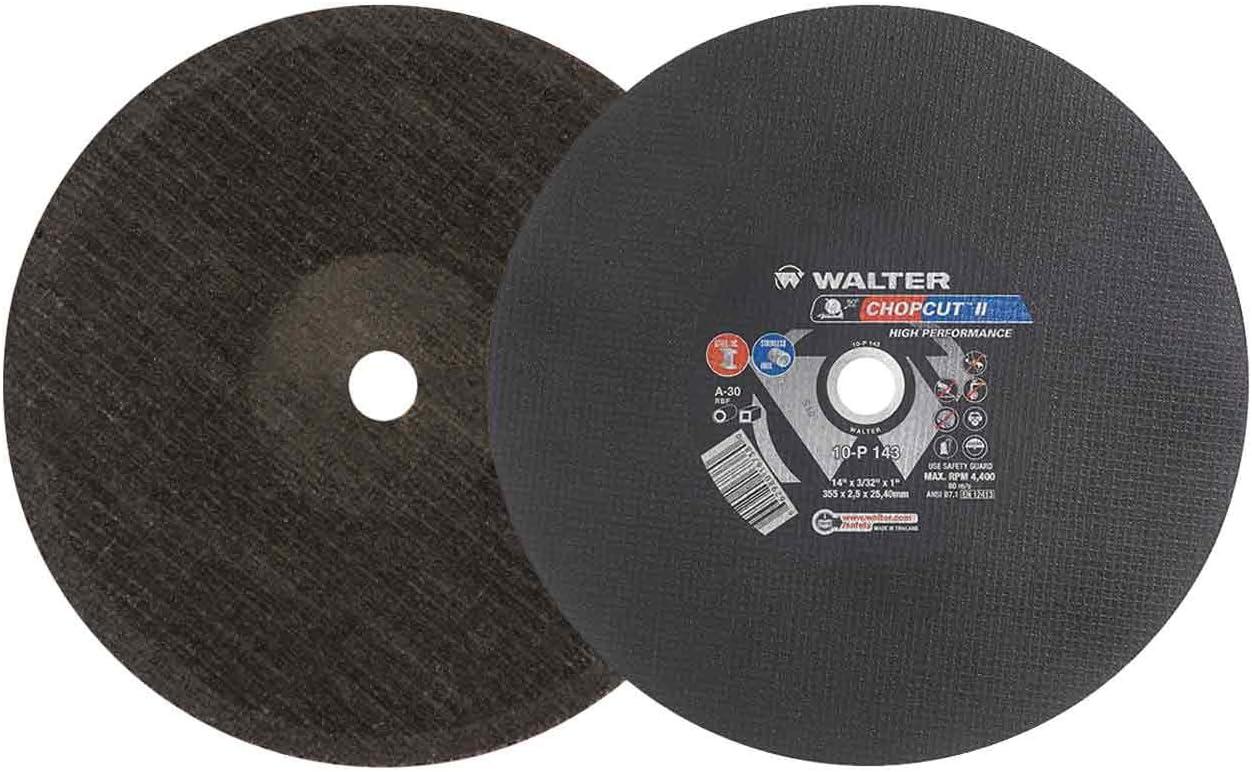 Walter 10-P 143 Portable Chopsaw Cutting Chopcut - X Wheel 14 Oakland Mall Max 67% OFF II
