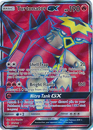 Turtonator-GX - 131/145 - Full Art Ultra Rare - Sun & Moon: Guardians Rising