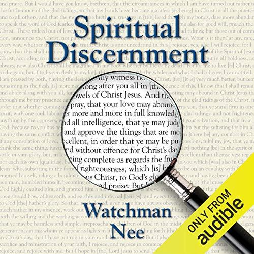 Spiritual Discernment cover art