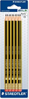 STAEDTLER Noris 122 Hb Pencil With Eraser Tip Pack Of 20 Double Stacked